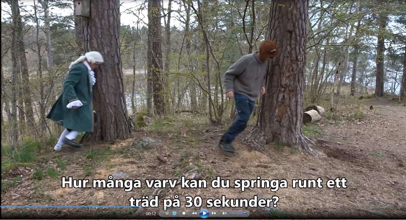 Räven Räv och Carl von Linné utmanar oktober 2020
