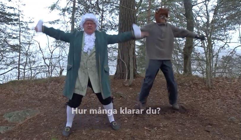 Räven Räv och Carl von Linne utmanar 31 januari 2020